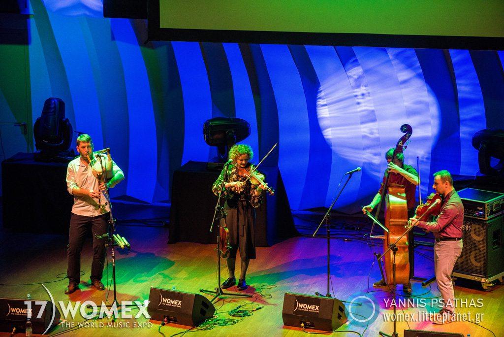 Skład Niearchaiczny concert at Womex Festival 2017 in Katowice © Yannis Psathas Music Photographer