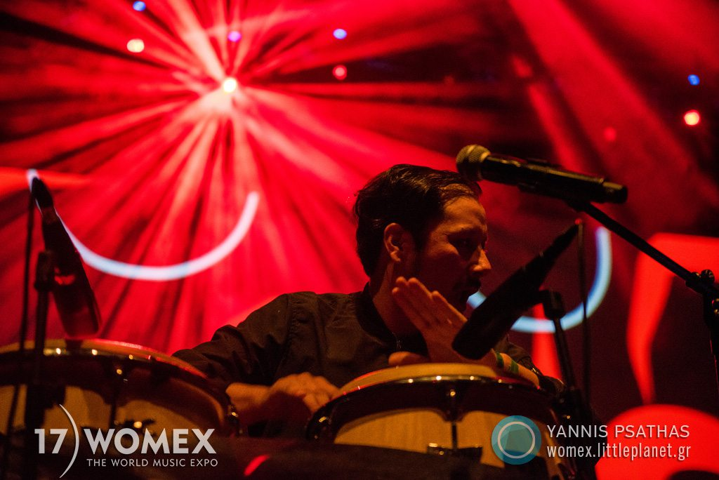 Sonido Gallo Negro concert at Womex Festival 2017 in Katowice © Yannis Psathas Music Photographer