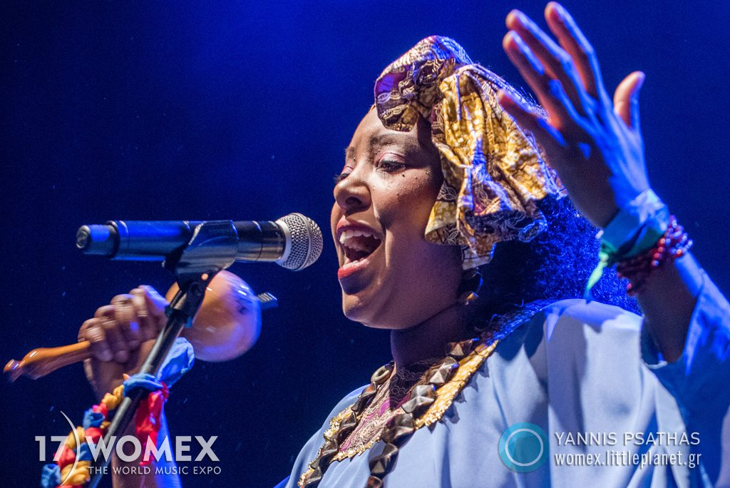 Betsayda Machado Parranda El Clavo concert at Womex Festival 2017 in Katowice © Yannis Psathas Music Photographer
