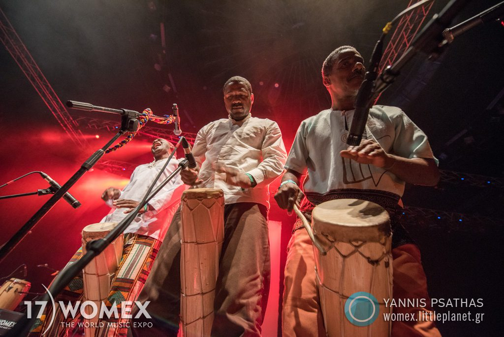 Betsayda Machado Parranda El Clavo concert at Womex Festival 2017 in Katowice © Yannis Psathas Music Photographer