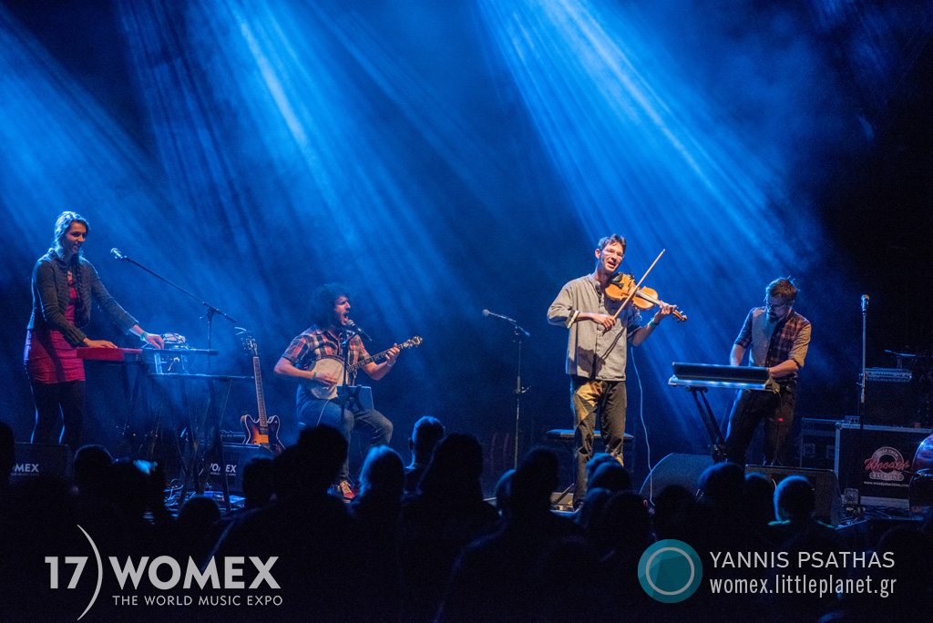Maz concert at Womex Festival 2017 in Katowice © Yannis Psathas Music Photographer