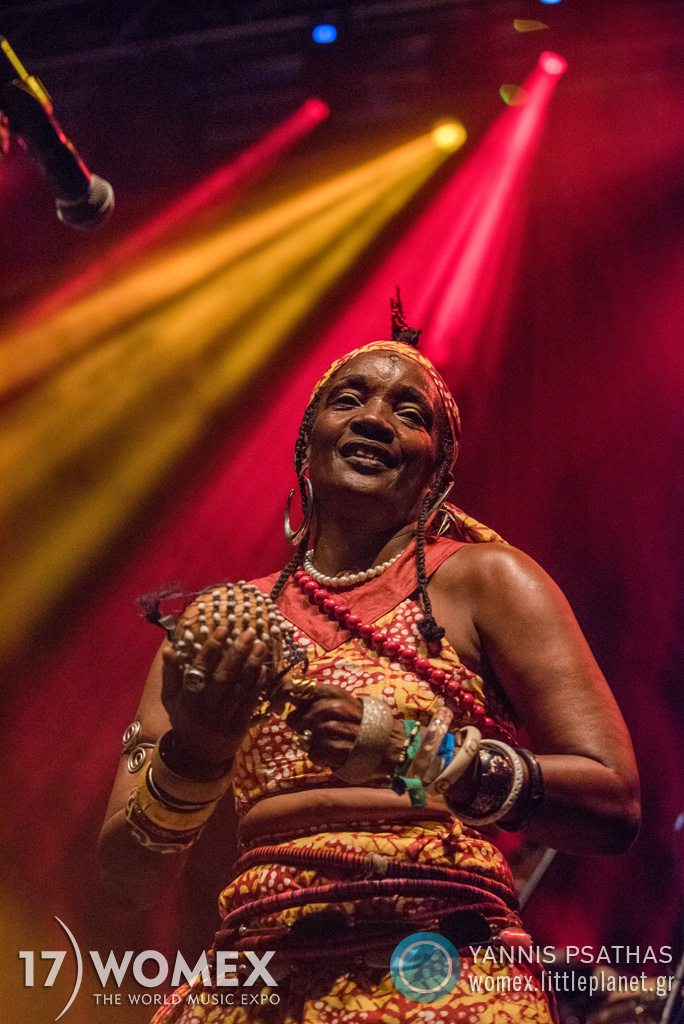 Orlando Julius concert at Womex Festival 2017 in Katowice © Yannis Psathas Music Photographer