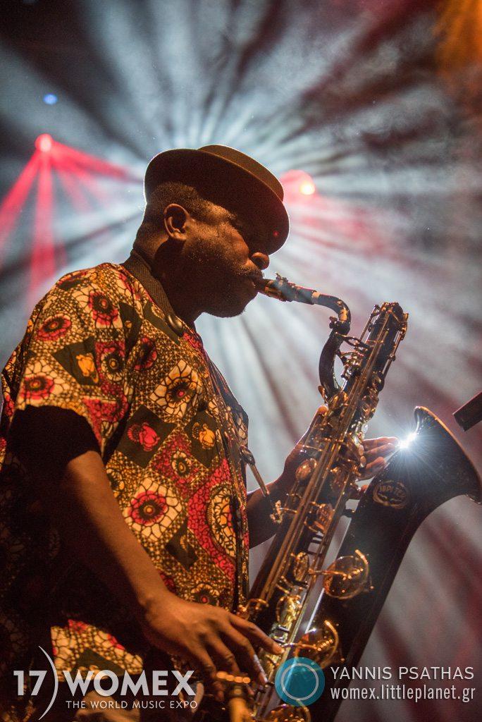 Orlando Julius concert at Womex Festival 2017 in Katowice © Yannis Psathas Music Photographer