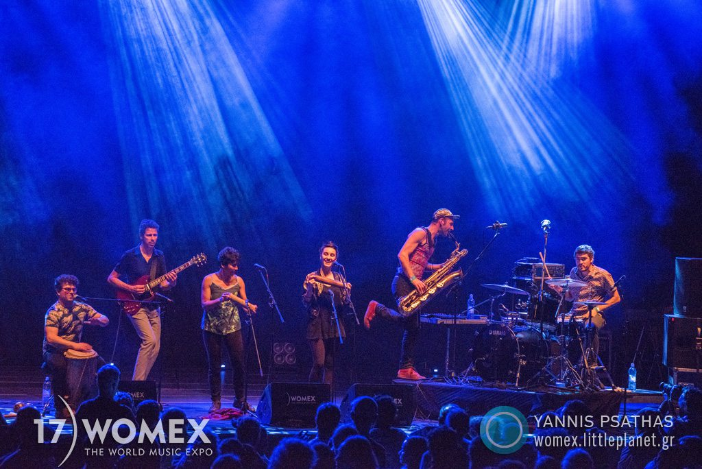 Pixvae concert at Womex Festival 2017 in Katowice © Yannis Psathas Music Photographer