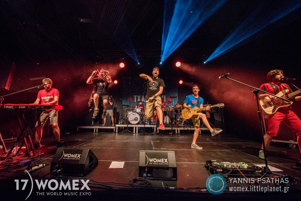 Txarango concert at Womex Festival 2017 in Katowice © Yannis Psathas Music Photographer