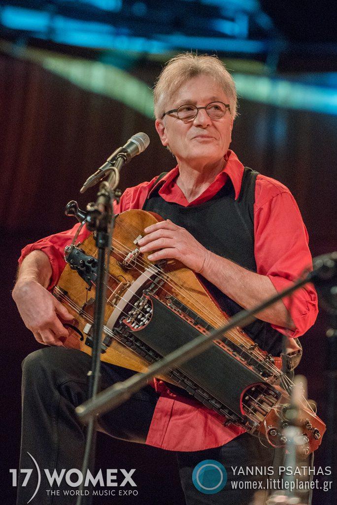 Valentin Clastrier Steven Kamperman concert at Womex Festival 2017 in Katowice © Yannis Psathas Music Photographer