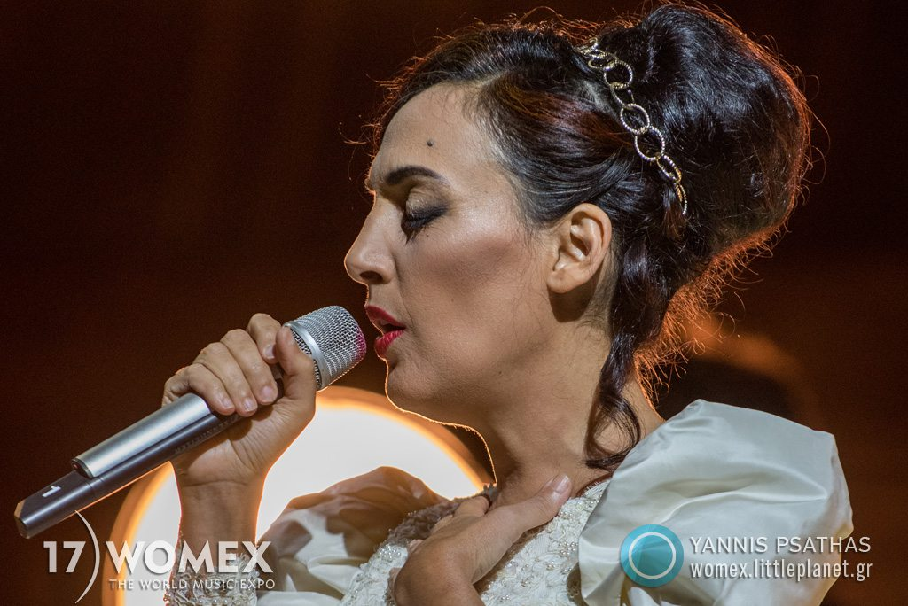 Victoria Hanna concert at Womex Festival 2017 in Katowice © Yannis Psathas Music Photographer
