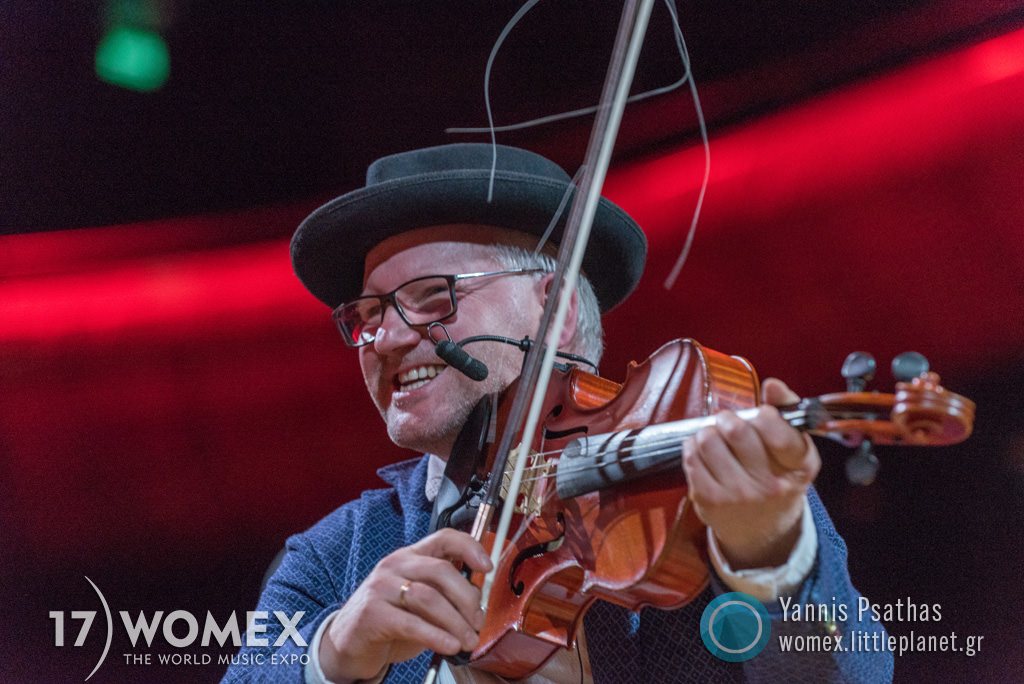 Volosi at Womex Festival 2017 in Katowice © Yannis Psathas Music Photographer