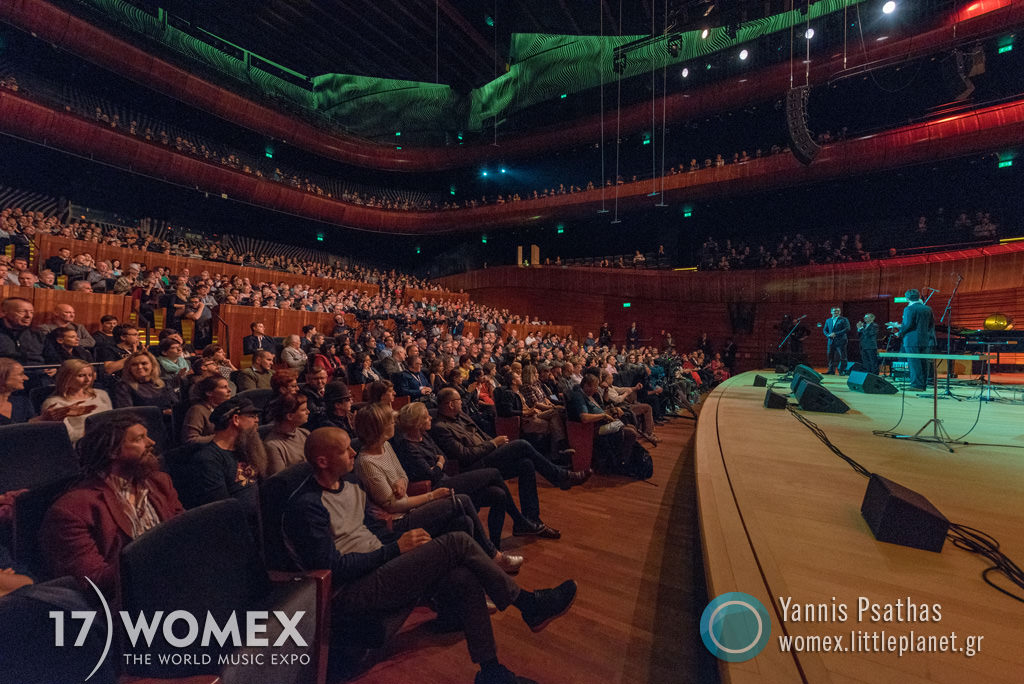 Womex 2017 Katowice Speech at Womex Festival 2017 in Katowice © Yannis Psathas Music Photographer