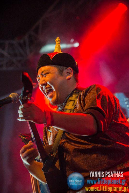Ajinai live concert at WOMEX Festival 2014 in Santiago de Compostela © Yannis Psathas Music Photography