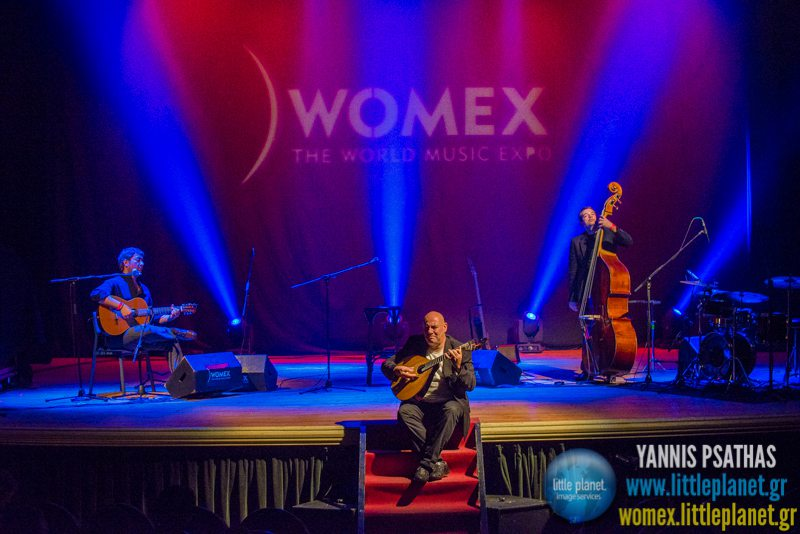 Custodio Castello live concert at WOMEX Festival 2014 in Santiago de Compostela © Yannis Psathas Music Photography