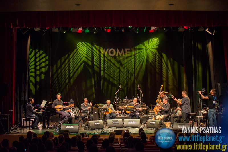 El Gusto Orchestra live concert at WOMEX Festival 2014 in Santiago de Compostela © Yannis Psathas Music Photography