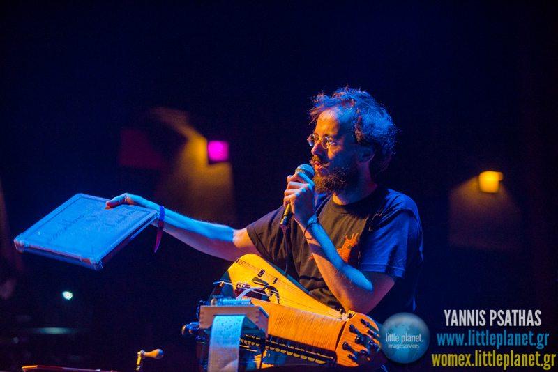 German DiazMetodo Cardiofonico live concert at WOMEX Festival 2014 in Santiago de Compostela © Yannis Psathas Music Photography
