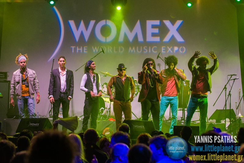 Mayito Rivera and The Sons of Cuba live concert at WOMEX Festival 2014 in Santiago de Compostela © Yannis Psathas Music Photography