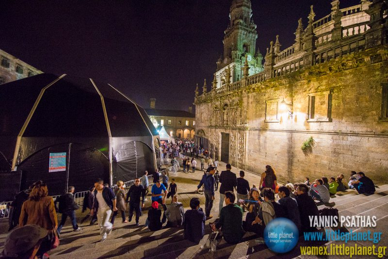 Nightviews live concert at WOMEX Festival 2014 in Santiago de Compostela © Yannis Psathas Music Photography