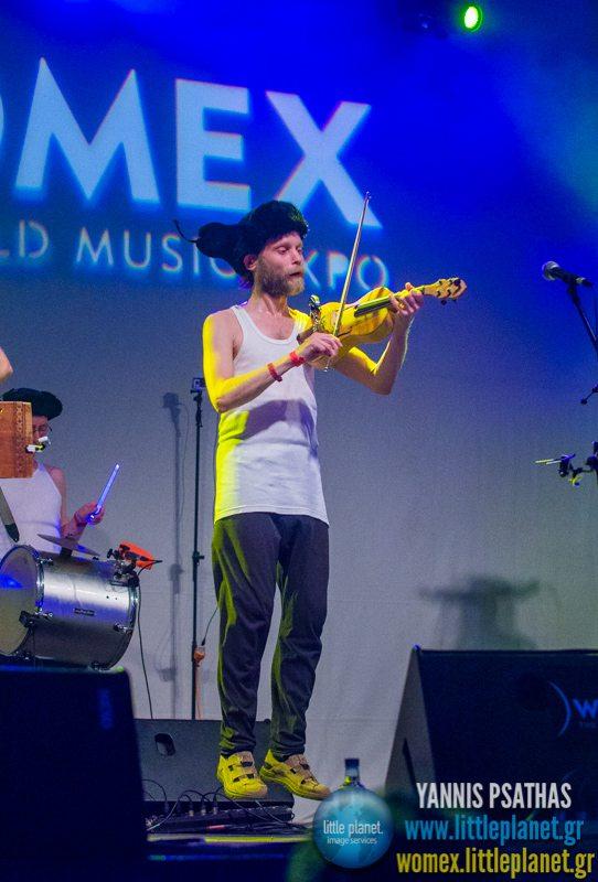 Otava Yo live concert at WOMEX Festival 2014 in Santiago de Compostela © Yannis Psathas Music Photography