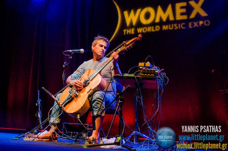 Paolo Angeli live concert at WOMEX Festival 2014 in Santiago de Compostela © Yannis Psathas Music Photography
