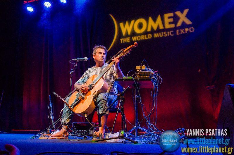 Paolo Angeli live concert at WOMEX Festival 2014 in Santiago de Compostela © Yannis Psathas Music Photography