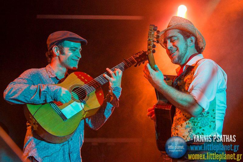 Raul RodriguezRazon de Son live concert at WOMEX Festival 2014 in Santiago de Compostela © Yannis Psathas Music Photography