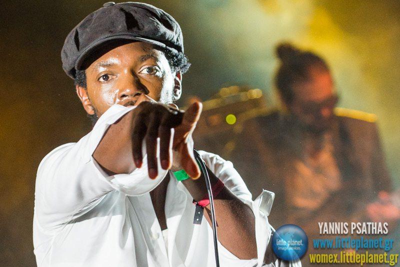 Baloji live concert at WOMEX Festival 2014 in Santiago de Compostela © Yannis Psathas Music Photography