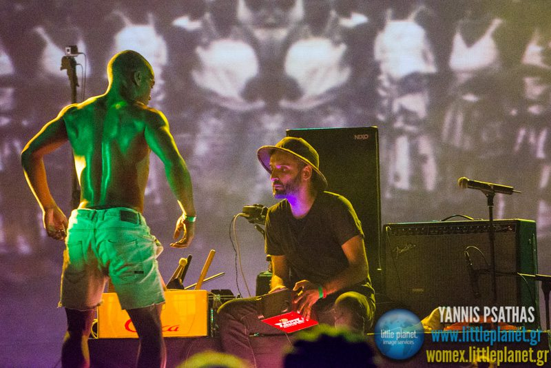 Batida live concert at WOMEX Festival 2014 in Santiago de Compostela © Yannis Psathas Music Photography