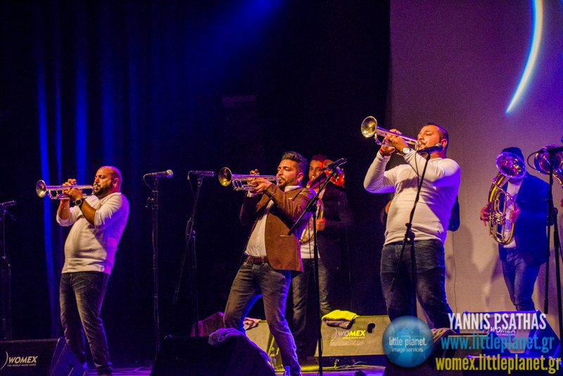 Dzambo Agusevi Orchestra live concert at WOMEX Festival 2014 in Santiago de Compostela © Yannis Psathas Music Photography