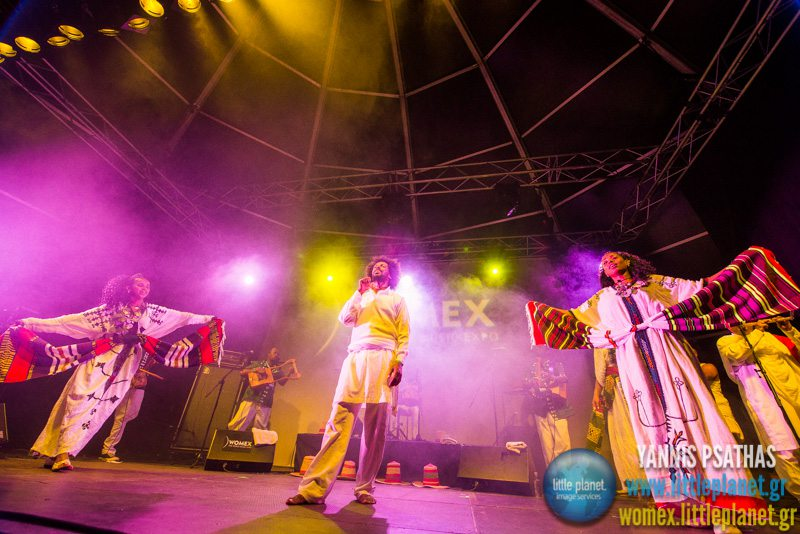 Ethiocolor live concert at WOMEX Festival 2014 in Santiago de Compostela © Yannis Psathas Music Photography
