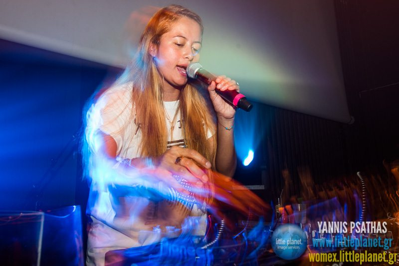Isa GT live concert at WOMEX Festival 2014 in Santiago de Compostela © Yannis Psathas Music Photography