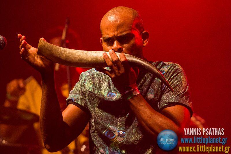 Kuenta i Tambu live concert at WOMEX Festival 2014 in Santiago de Compostela © Yannis Psathas Music Photography