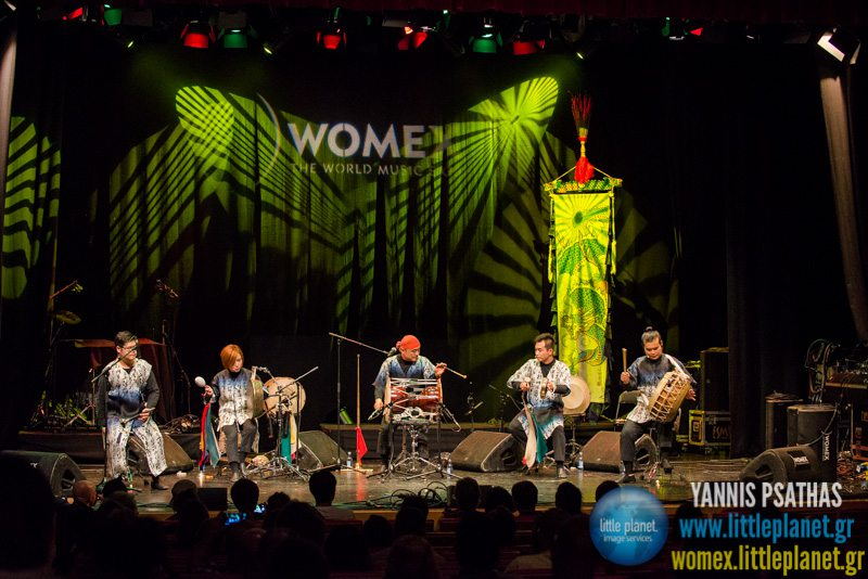 Noreum Machi live concert at WOMEX Festival 2014 in Santiago de Compostela © Yannis Psathas Music Photography