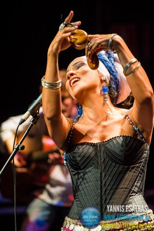Oum live concert at WOMEX Festival 2014 in Santiago de Compostela © Yannis Psathas Music Photography