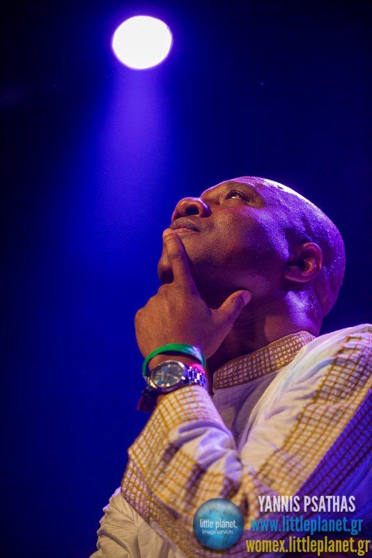 Sekumba Bambino live concert at WOMEX Festival 2014 in Santiago de Compostela © Yannis Psathas Music Photography