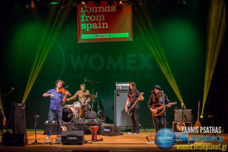 Zoozabar live concert at WOMEX Festival 2014 in Santiago de Compostela © Yannis Psathas Music Photography