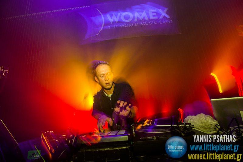 Den Sorte Skole live concert at WOMEX Festival 2014 in Santiago de Compostela © Yannis Psathas Music Photography