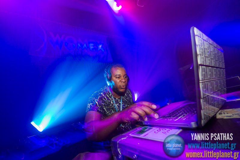 Dj Marfox live concert at WOMEX Festival 2014 in Santiago de Compostela © Yannis Psathas Music Photography
