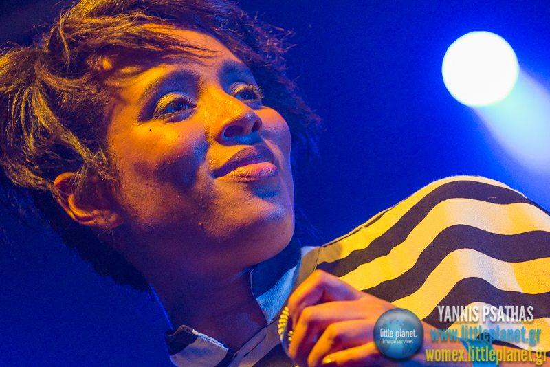 Ester Rada live concert at WOMEX Festival 2014 in Santiago de Compostela © Yannis Psathas Music Photography