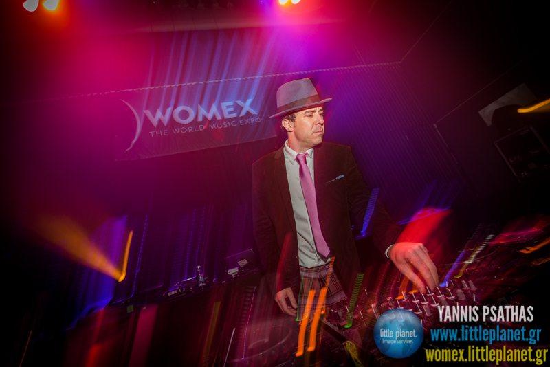 Greg de Villanova live concert at WOMEX Festival 2014 in Santiago de Compostela © Yannis Psathas Music Photography