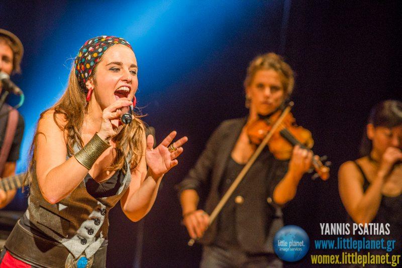 Kalima live concert at WOMEX Festival 2014 in Santiago de Compostela © Yannis Psathas Music Photography