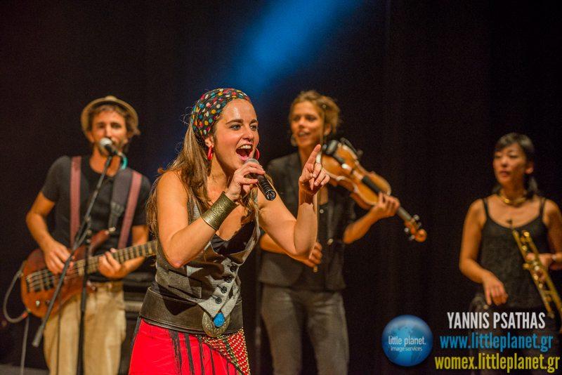 Kalim live concert at WOMEX Festival 2014 in Santiago de Compostela © Yannis Psathas Music Photography