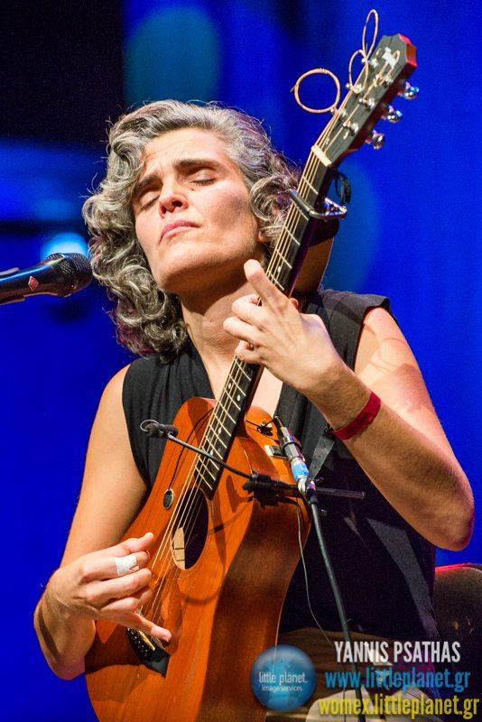 Lula Pena live concert at WOMEX Festival 2014 in Santiago de Compostela © Yannis Psathas Music Photography
