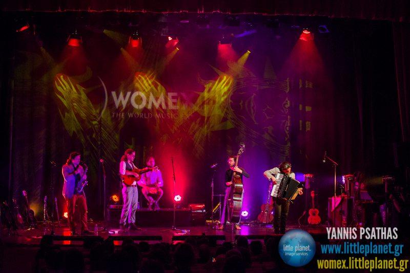 Sondorgo live concert at WOMEX Festival 2014 in Santiago de Compostela © Yannis Psathas Music Photography