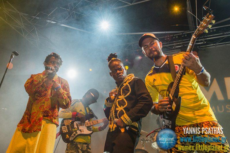 Tribu Bahar live concert at WOMEX Festival 2014 in Santiago de Compostela © Yannis Psathas Music Photography