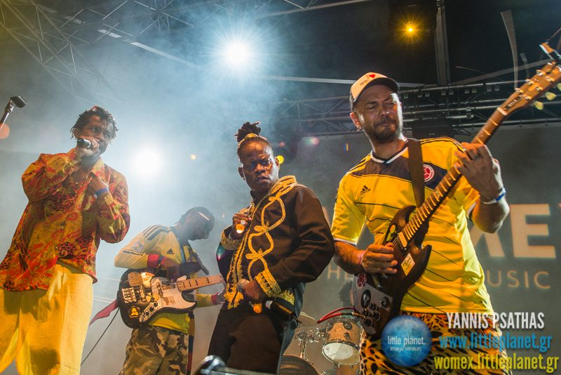 Tribu Bahar live concert at WOMEX Festival 2014 in Santiago de Compostela © Yannis Psathas Music Photography