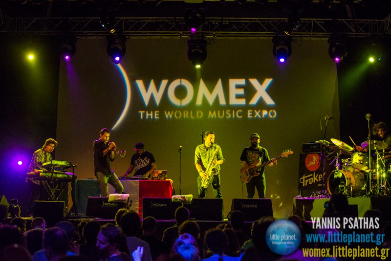 Troker live concert at WOMEX Festival 2014 in Santiago de Compostela © Yannis Psathas Music Photography